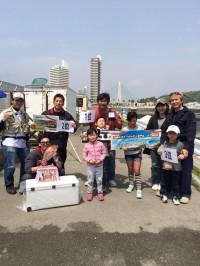 春だ!釣りだ!和歌山マリーナシティー釣り堀大会